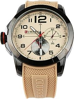 ساعة رجالية من كورين بسوار مطاطي , كوارتز, 8182ABIV