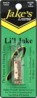 1000 West Jake'S Lures Li'L Jake 1/6Oz Silver Red Fishing Eq