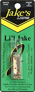 Jake's Lures Li'L Jake 1/6Oz Silver Red Fishing Equipment