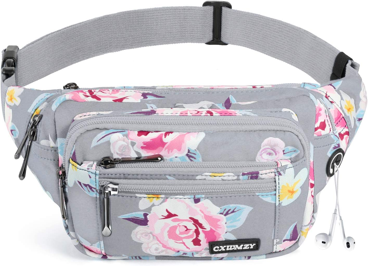 CXWMZY Waist Pack New product Bag Memphis Mall Fanny for MenWomen Hip with Bum