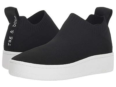 rag & bone Orion Knit Sneaker (Black) Women