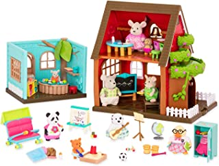 Li'l Woodzeez Deluxe School House Playset