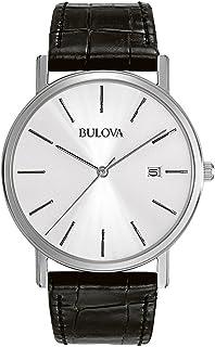 [ブローバ]Bulova 腕時計 Silver Dial Dress Watch 96B104 メンズ [並行輸入品]