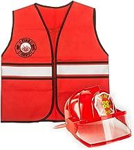 Tigerdoe Fireman Costume - Firefighter Dress Up - Fire Toys - Dress Up Accessories