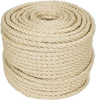 Golberg Twisted Sisal Rope (3/4 Inch x 10 Feet)