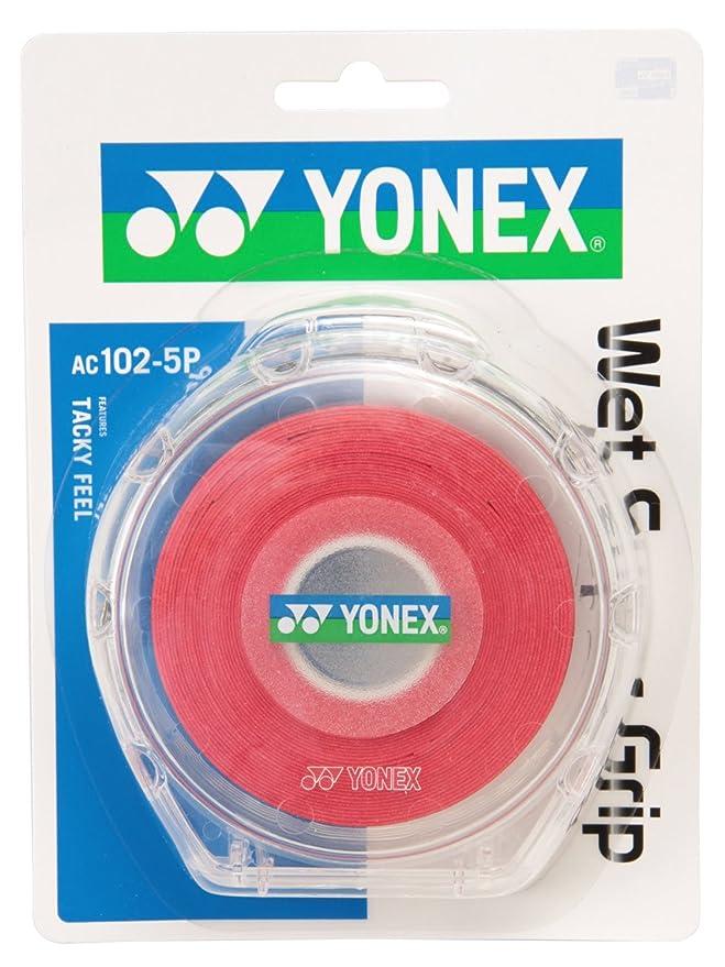 プロフェッショナルウイルスのホストYonex(ヨネックス) ウェットスーパーグリップ5本パック(5本入)