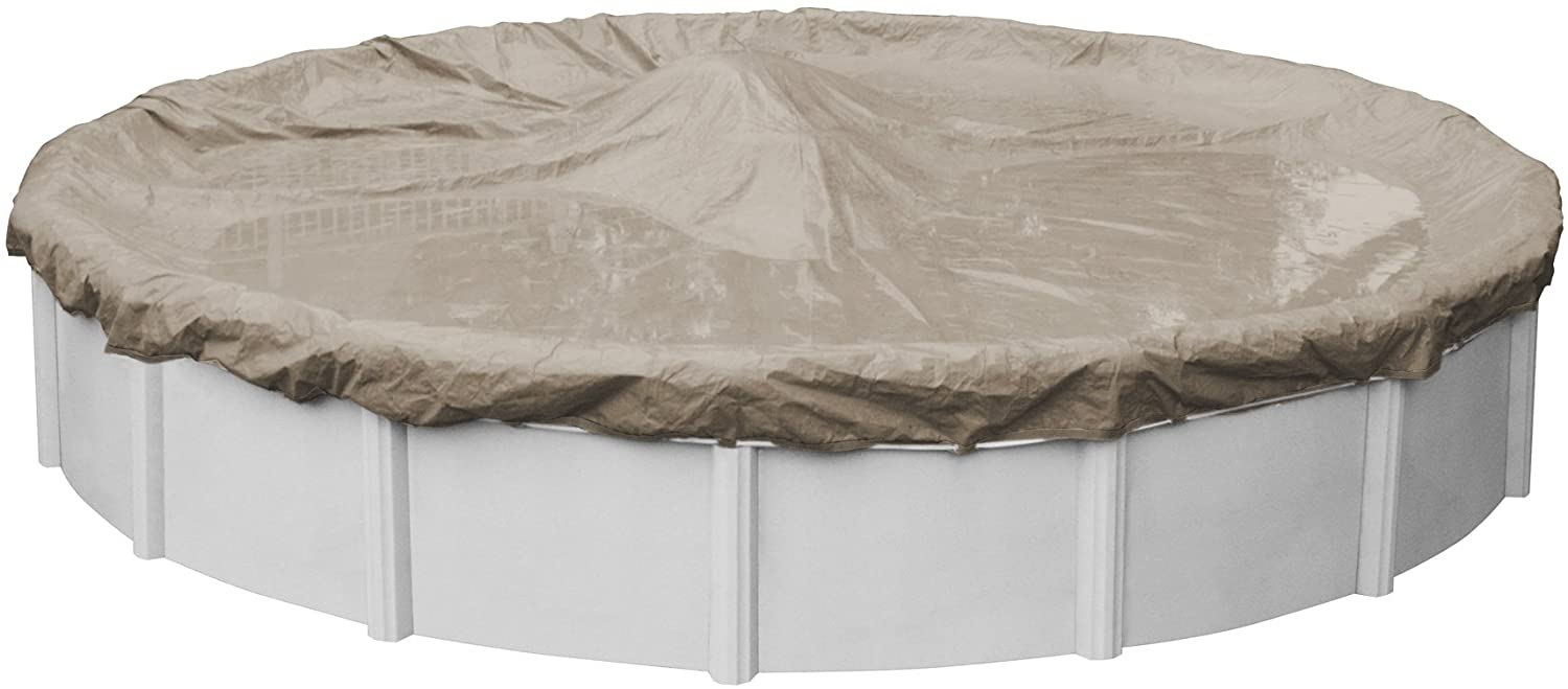 Pool Mate 5718-4 Sandstone Japan Maker New Winter Round Max 50% OFF for Gro Above Cover
