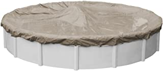 Pool Mate 5730-4 Sandstone Winter Pool Cover for Round Above Ground Swimming Pools, 30-ft. Round Pool