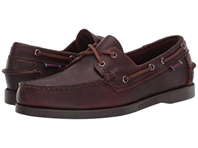 Sebago Docksides Portland Tumbled Matte (Cinnamon/Dark Brown) Men