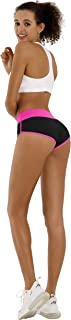 BUBBLELIME Sexy Booty Yoga Shorts Running Shorts Women Workout Fitness Active Wicking UPF30+ Yoga Tummy Control