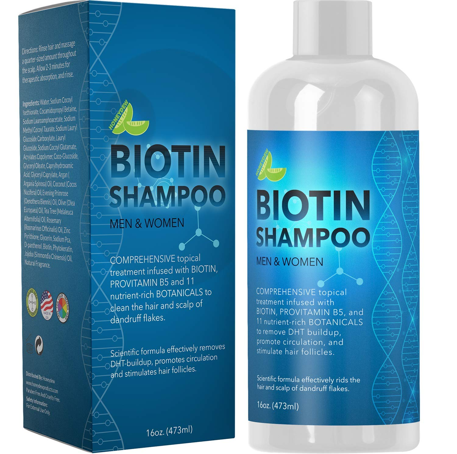 Biotin Shampoo Hair Growth Thickening
