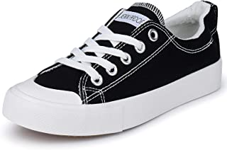 Women Canvas Sneakers Low Top Walking Shoes Flat Fashion...