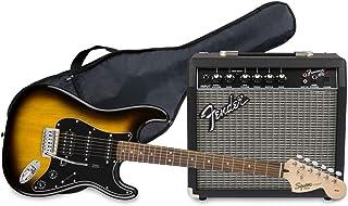 Fender 0371824632 Affinity Series¹ Stratocaster HSS Pack, Laurel Fingerboard, Brown Sunburst, Gig Bag, 15G - 230V EU