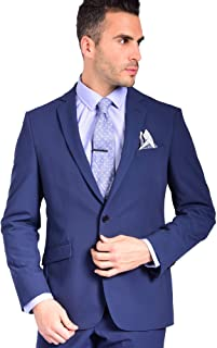 Sponsored Ad - Craft & Soul Men's Slim Fit Suit Separates Jacket Blazer Coat
