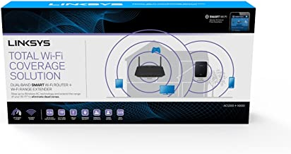 Linksys Router and Range Extender Bundle