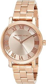 Michael Kors Women's Norie Rose Goldtone Three-Hand Watch