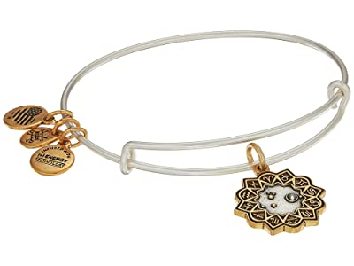 Alex and Ani Two-Tone Zodiac Bangle (Aries) Bracelet