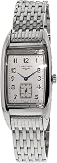 Longines Men's Bellearti L26944736 Silver Stainless-Steel Swiss Quartz Dress Watch