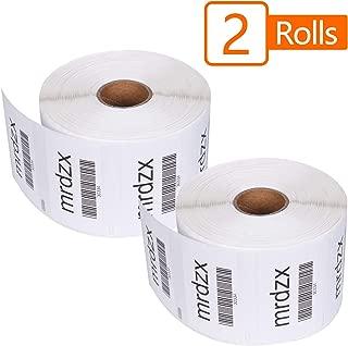 2 Rolls Compatible Dymo 30334 Multipurpose Labels, 2-1/4