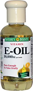 Natures Bounty Vitamin E Oil, 74 ml