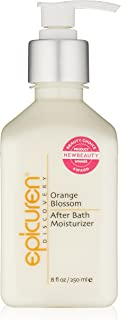 Epicuren Discovery Orange Blossom After Bath Body Moisturizer, 8 Fl oz