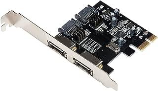 I-TEC ACCESSORIES I-TEC PCIE 卡 SATAIII 2 通道 2X ESATA + 2X SATA