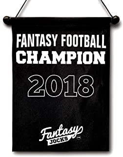 Fantasy Football Championship Banner Trophy