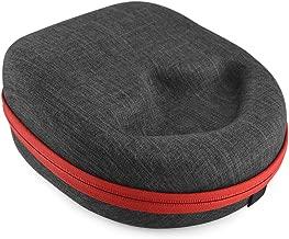 Headphones Case for Sennheiser HD 598, Momentum, Skullcandy Hesh, Crusher, ATH-M50X, Beats Studio, Mixr and More/Headphone Hard Shell Large Carrying Case/Headset Travel Bag (Gray)