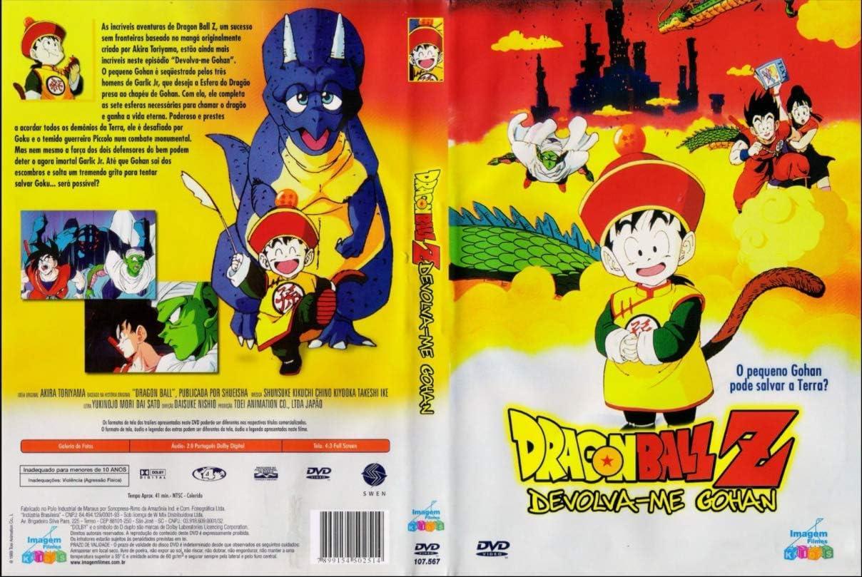Dragon Ball Z Devolva-Me Gohan