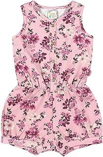 Macaquinho Rotativo Rosa Chá Bebê Menina Cotton Ref:37504-868