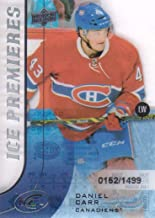2015-16 Upper Deck Ice #158 Daniel Carr RC /1499 Montreal Canadiens