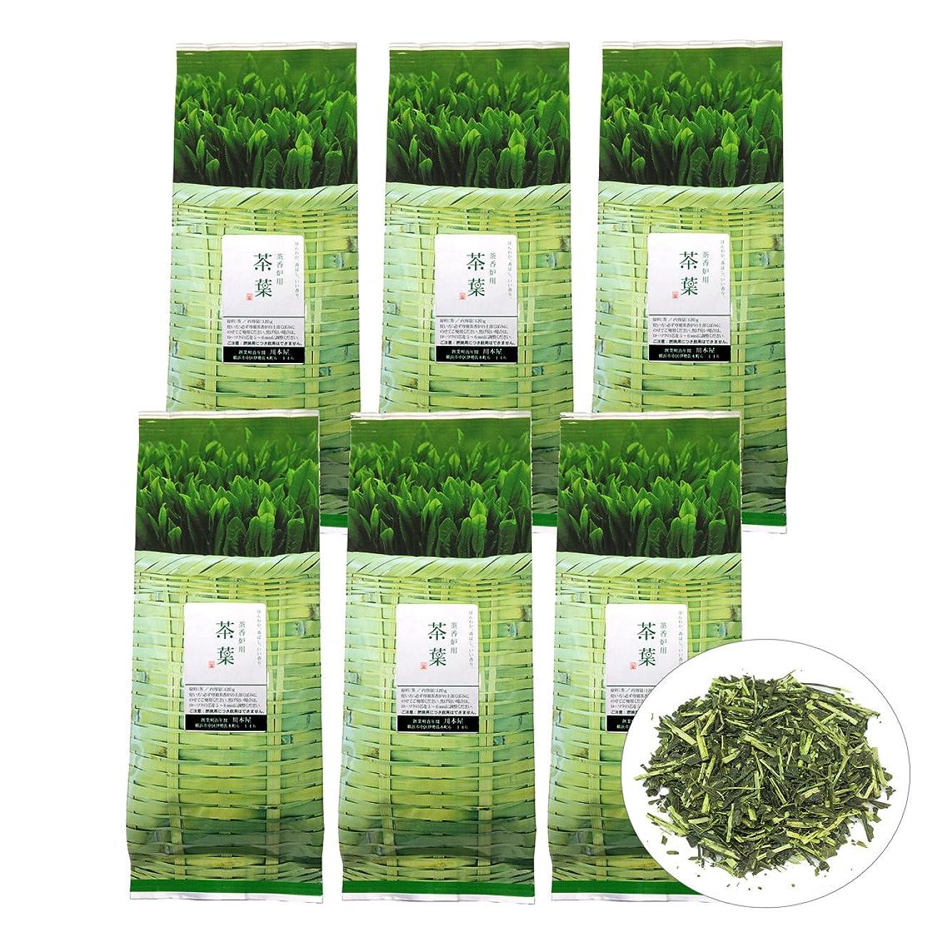 広がりペストリップ国産 茶香炉専用 茶葉110g (6袋) 川本屋茶舗