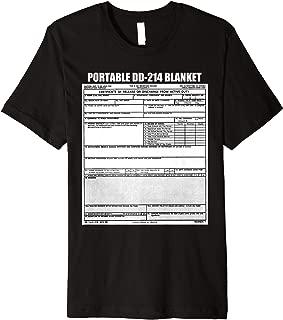 My Portable DD-214 Blanket Veteran Pride Shirt