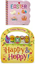 Easter Board Book 2-pack: Babies Love Easter and Happy & Hoppy - Children's Lift-a-Flap Board Books, Gifts for Easter Bask...