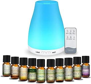 MEVA DIFUSOR de aceite aromas esencial aromaterapia con 10 e