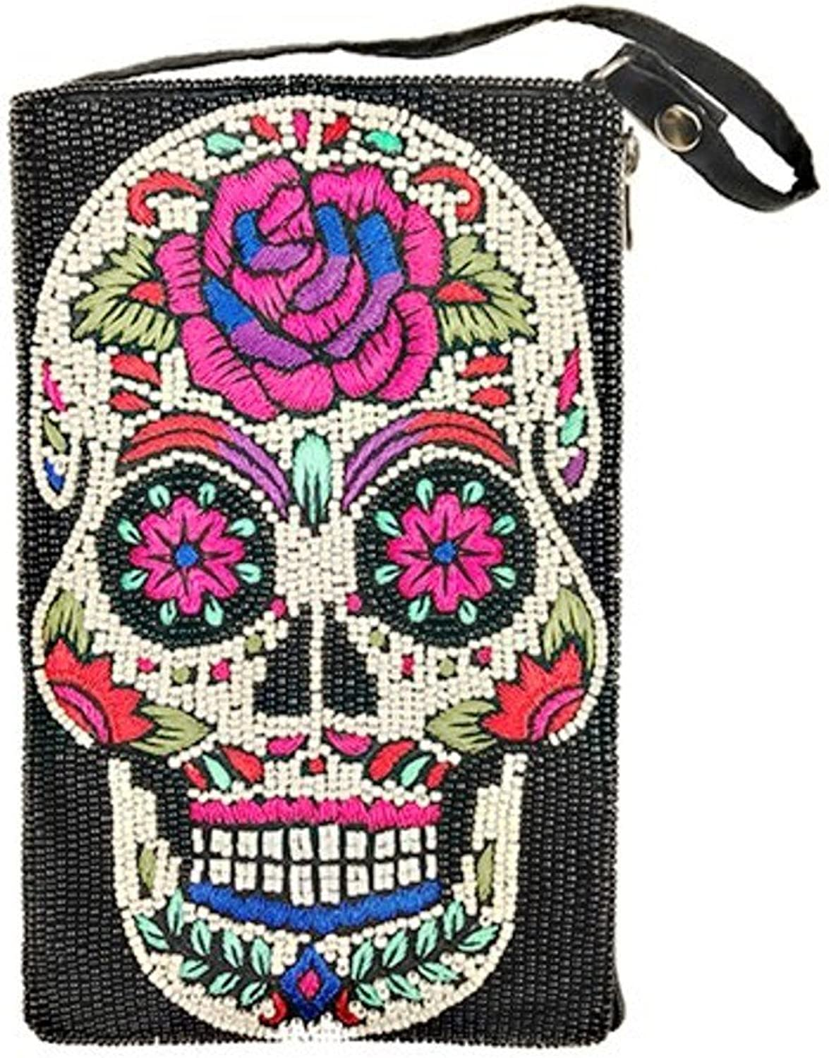 Bamboo Trading Company Cell Phone or Club Bag, Sugar Skull