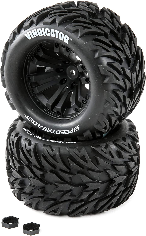 Duratrax 40% OFF Cheap Sale SpeedTreads Vindicator Tires Mounted Stadium 1 New York Mall 2 10 :