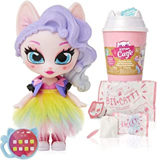 Kitten Catfé Purrista Girls Doll Figures Series #1 Mystery pack- Assorted Colors