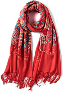 Schal Marke Kaschmir Frauen Schal Winter Warme Stickschals Und Wickel Wolle Lange Weibliche Foulard Verdicken Decke Schals