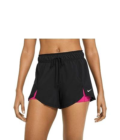 Nike Flex Essential 2-in-1 Shorts (Black/Fireberry/White) Women
