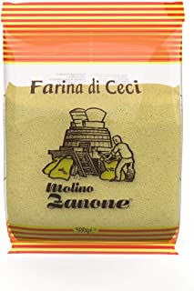 Garbanzo Bean Flour - Gluten-Free Chickpea Flour, 17.06 Ounces - Molino Zanone Farina Di Ceci 500 grams