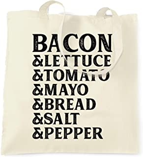 BLT Tote Bag Bacon Lettuce Tomato Sandwhich