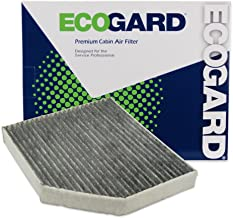 ECOGARD XC36071C Cabin Air Filter with Activated Carbon Odor Eliminator - Premium Replacement Fits Audi Q5, A4 Quattro, A5 Quattro, A4 / Porsche Macan / Audi S5, S4, allroad, SQ5, A5, RS5, A4 allroad