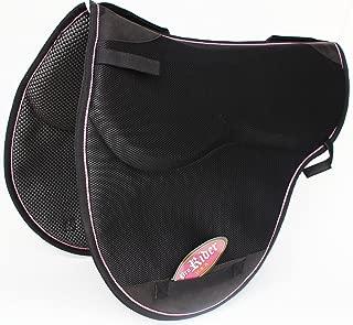 Pro Rider Horse English Endurance Treeless Non-Slip Neoprene Saddle Pad Black 6405BK3