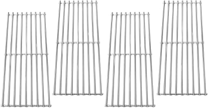 Direct Store Parts Kit DS111 (4-Pack) Solid Stainless Steel Cooking grids Replacement Turbo,Perfect Flame, Perfect Flame Gas Grill (4)