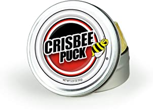 Crisbee Puck Cast Iron and Carbon Steel Seasoning - Family Made in USA - The Cast Iron Seasoning Oil & Conditioner Preferr...