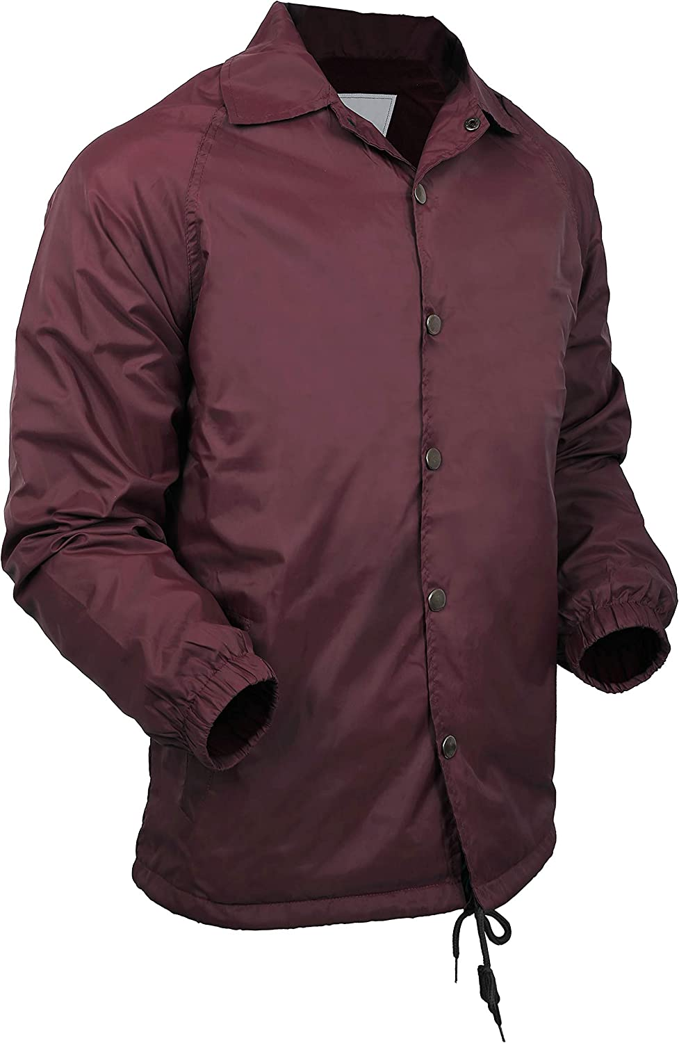 Hat and Beyond Casual Coaches Jacket Lightweight Active Unisex Windbreaker Coat