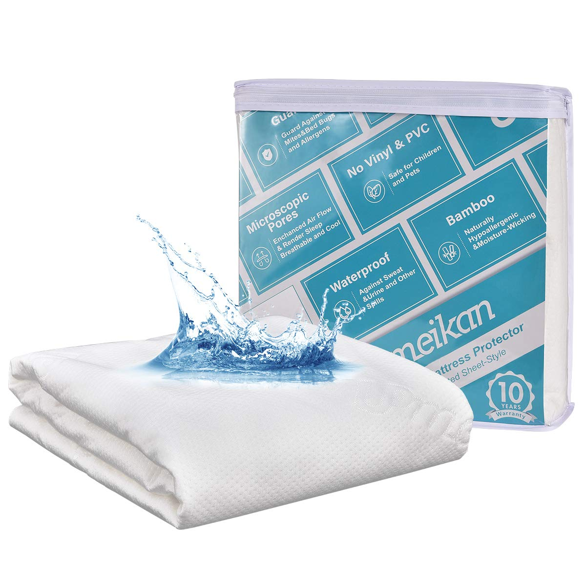 upmeikan Protector Premium Hypoallergenic Microscopic Pores Vinyl