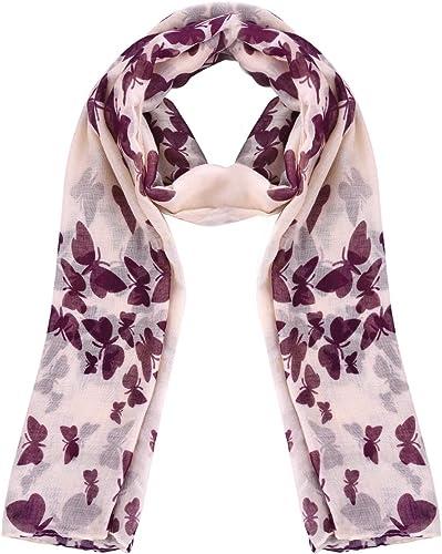 Rjm Accessoires Femme Doux écharpe rose foulard moelleux.