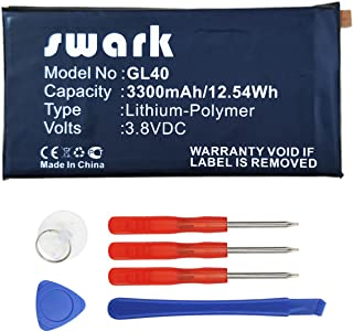 Swark Replacement GL40 Battery Compatible with Motorola Moto Z Play Droid XT1635 SNN5974A (GL40)